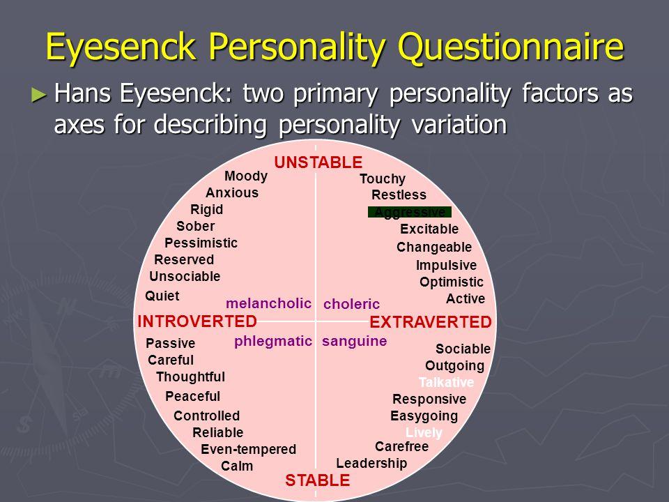 Eyesenck Personality Questionnaire