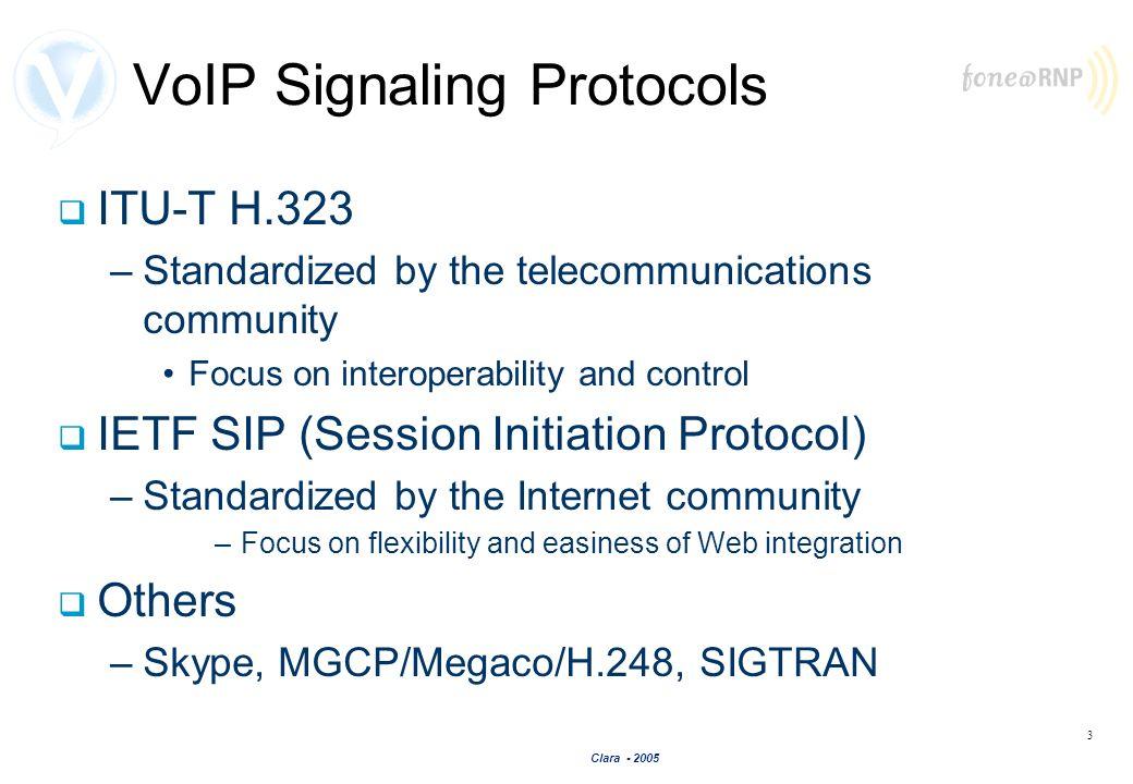 VoIP Signaling Protocols