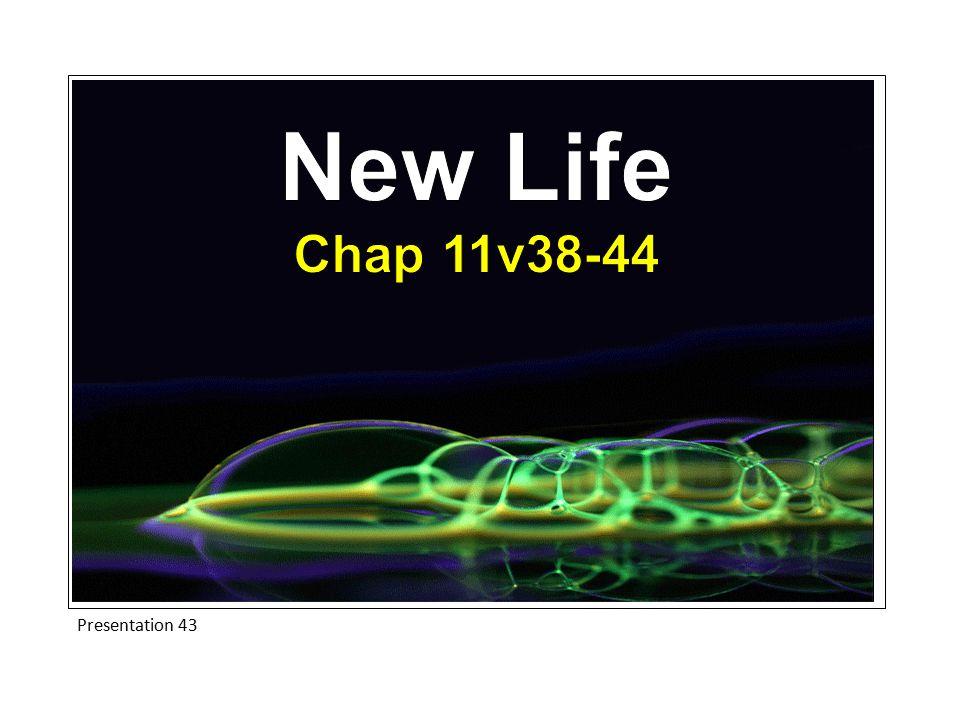 New Life Chap 11v38-44 Presentation 43