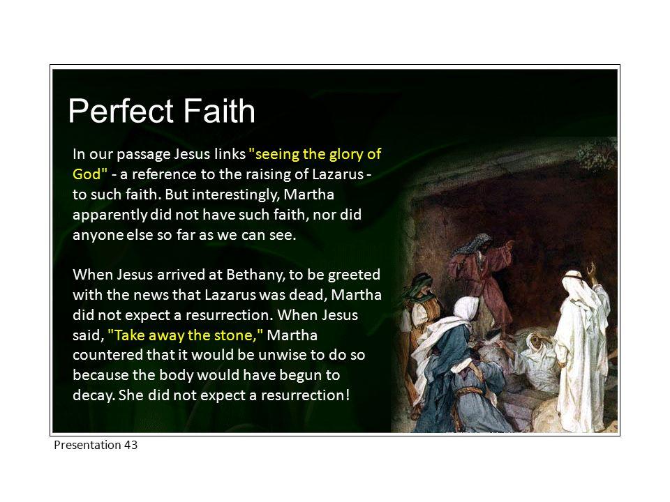 Perfect Faith