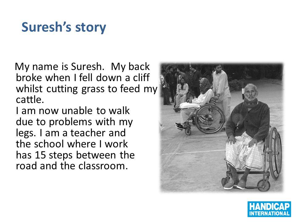 Suresh's story