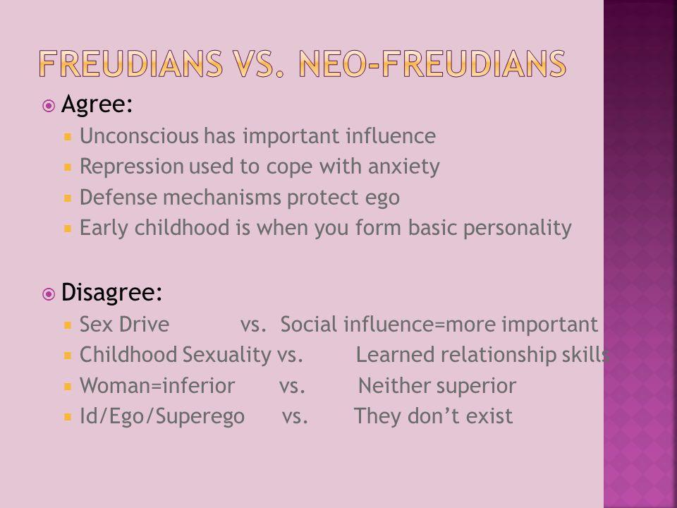 Freudians vs. Neo-Freudians