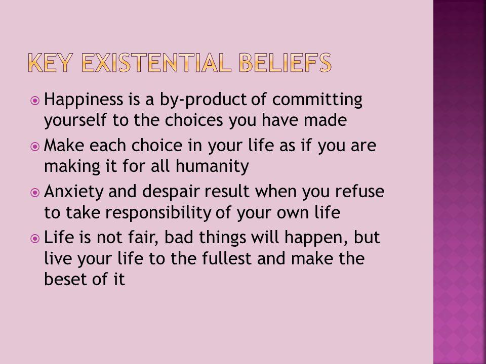 Key Existential Beliefs