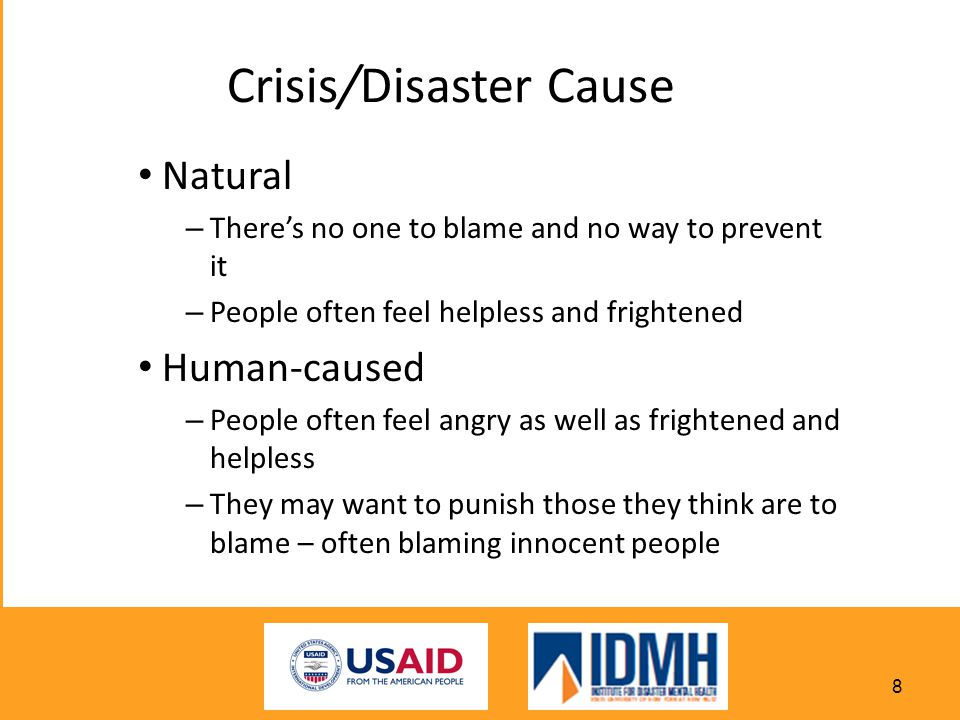 Crisis/Disaster Cause