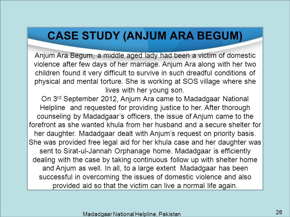 CASE STUDY (ANJUM ARA BEGUM)
