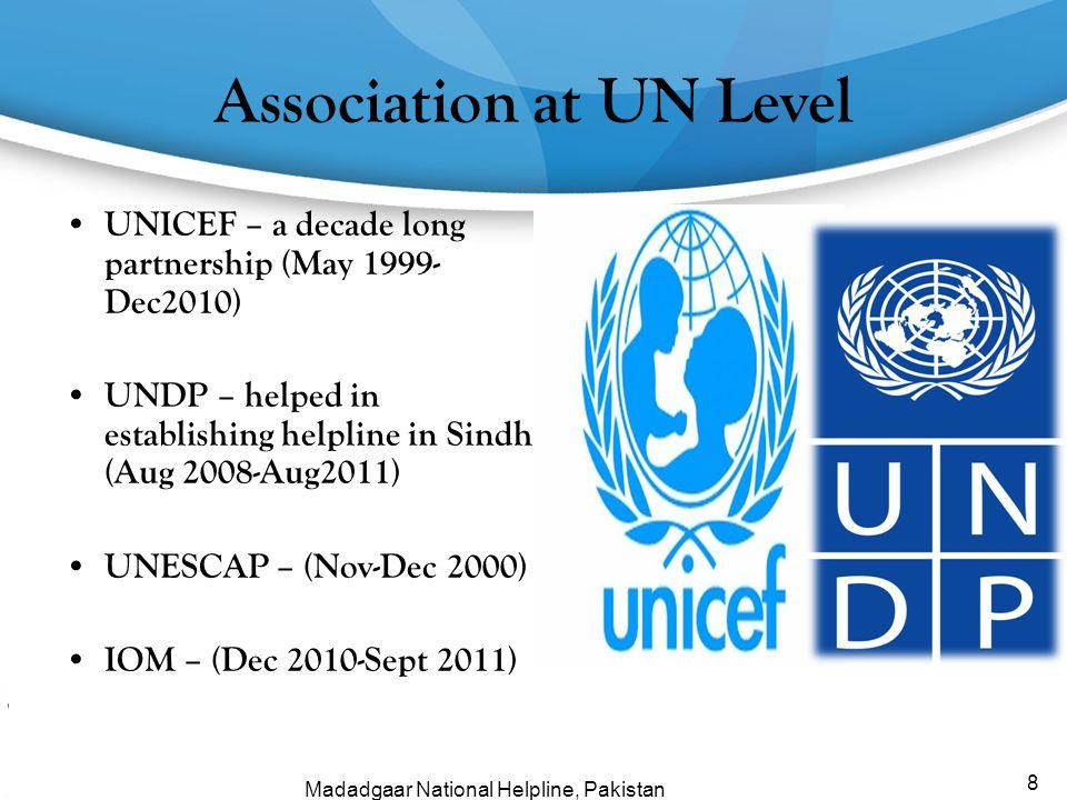 Association at UN Level