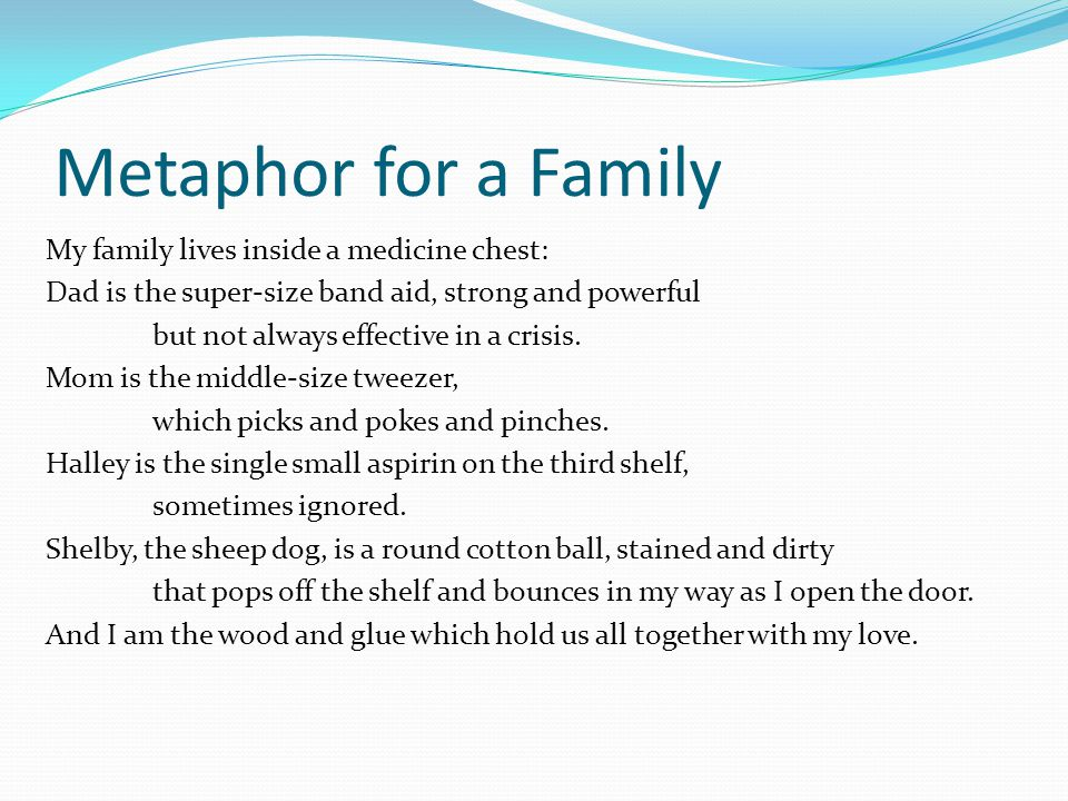 Metaphor Poem #5. - ppt download
