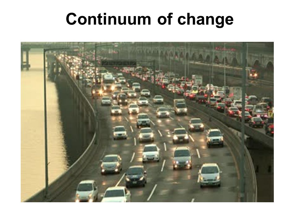 Continuum of change