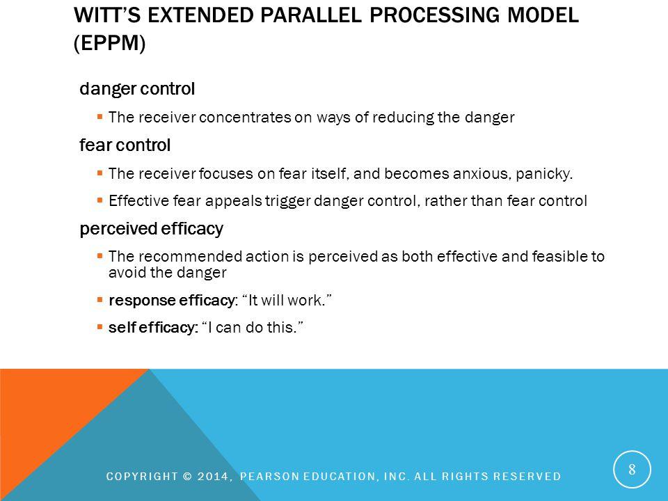 Witt's Extended Parallel Processing Model (EPPM)
