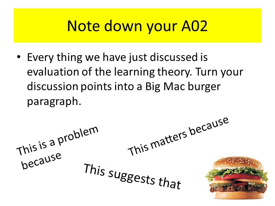 Note down your A02 This suggests that