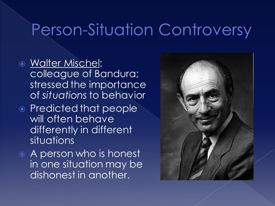 Person-Situation Controversy