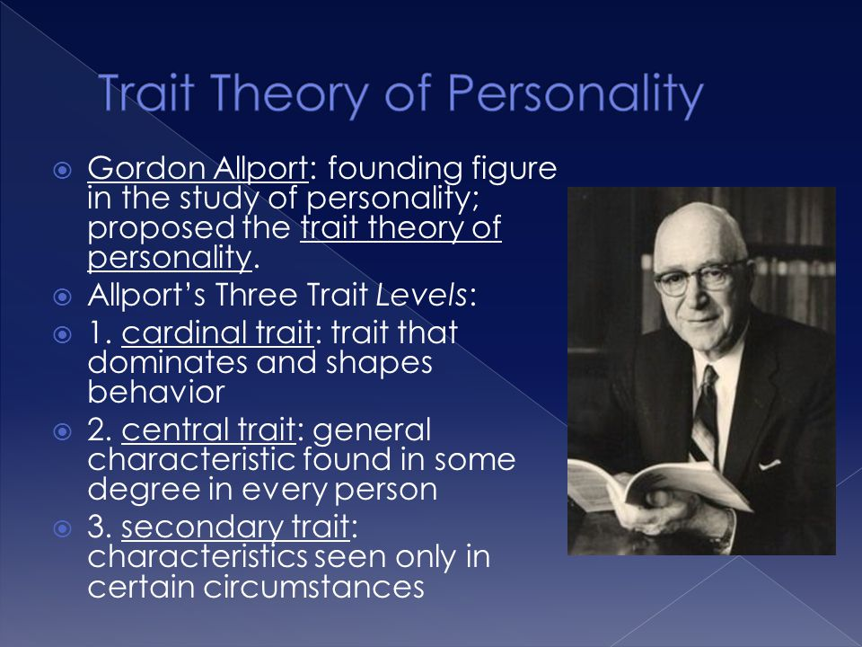 Trait Theory of Personality