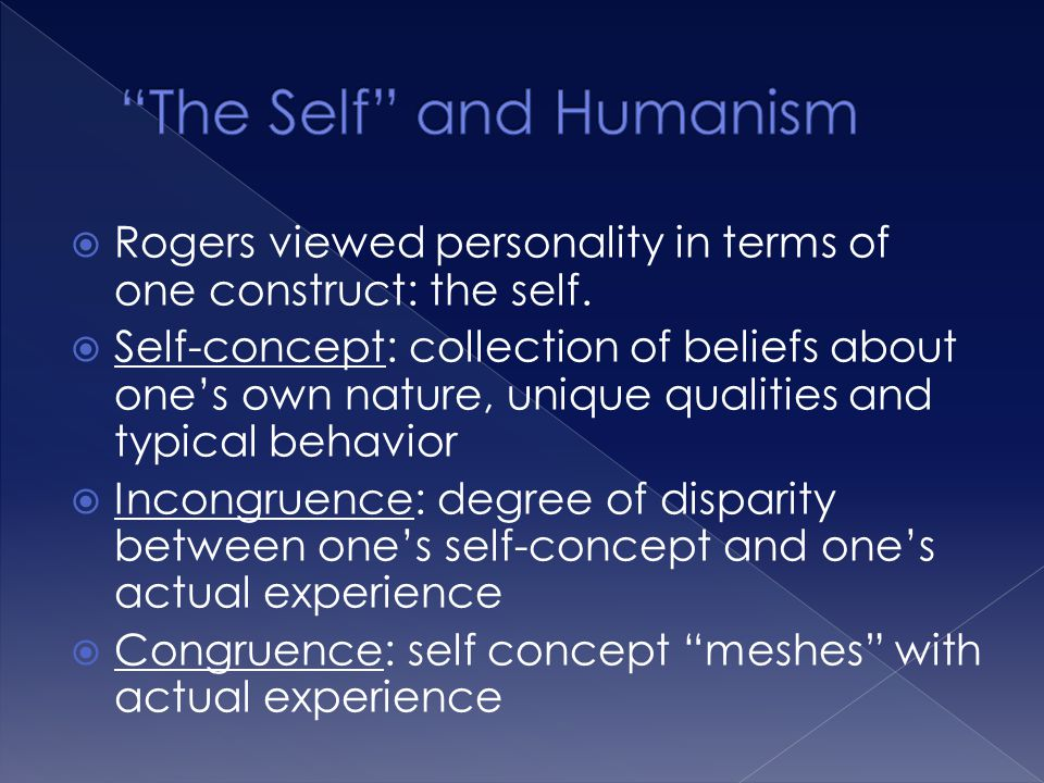 The Self and Humanism