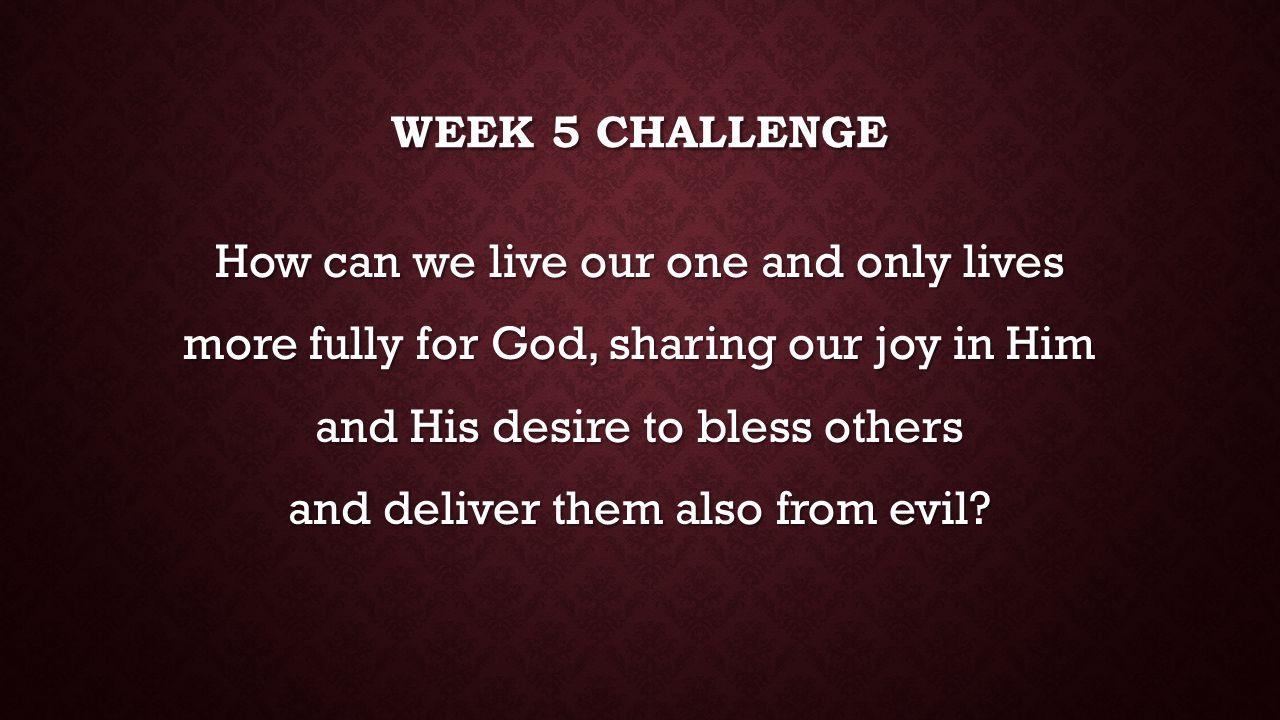 Week 5 challenge