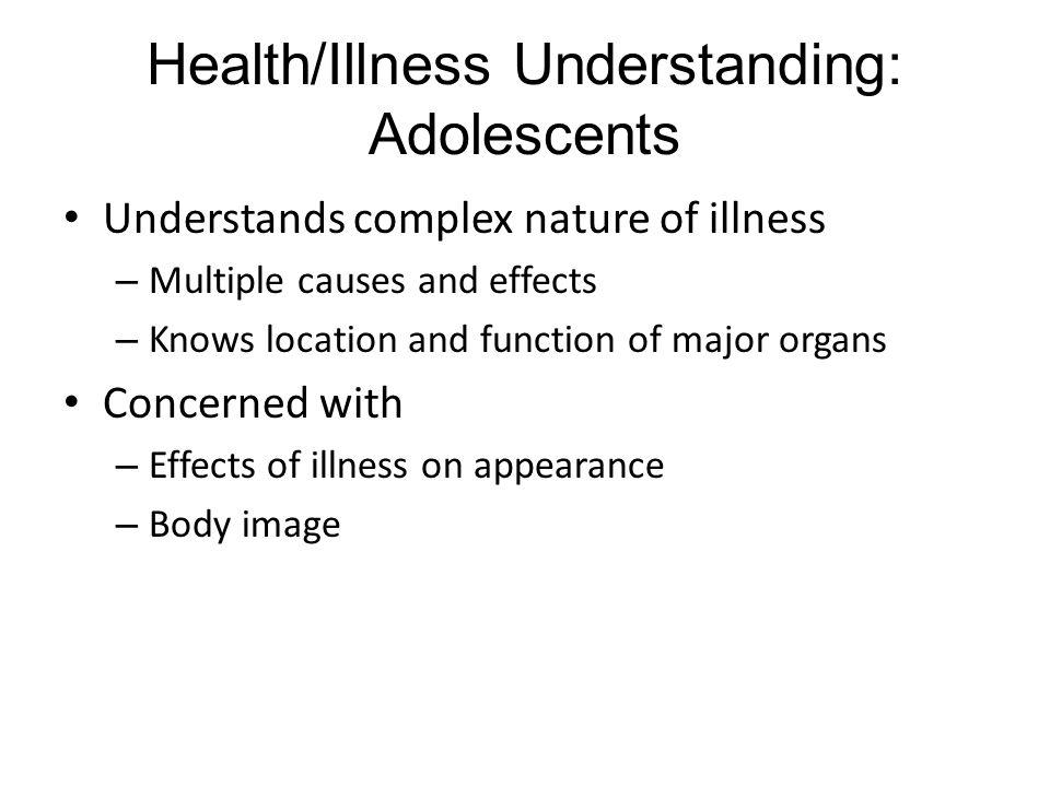Health/Illness Understanding: Adolescents