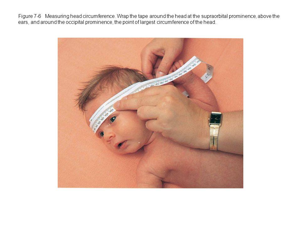 Figure 7-6 Measuring head circumference