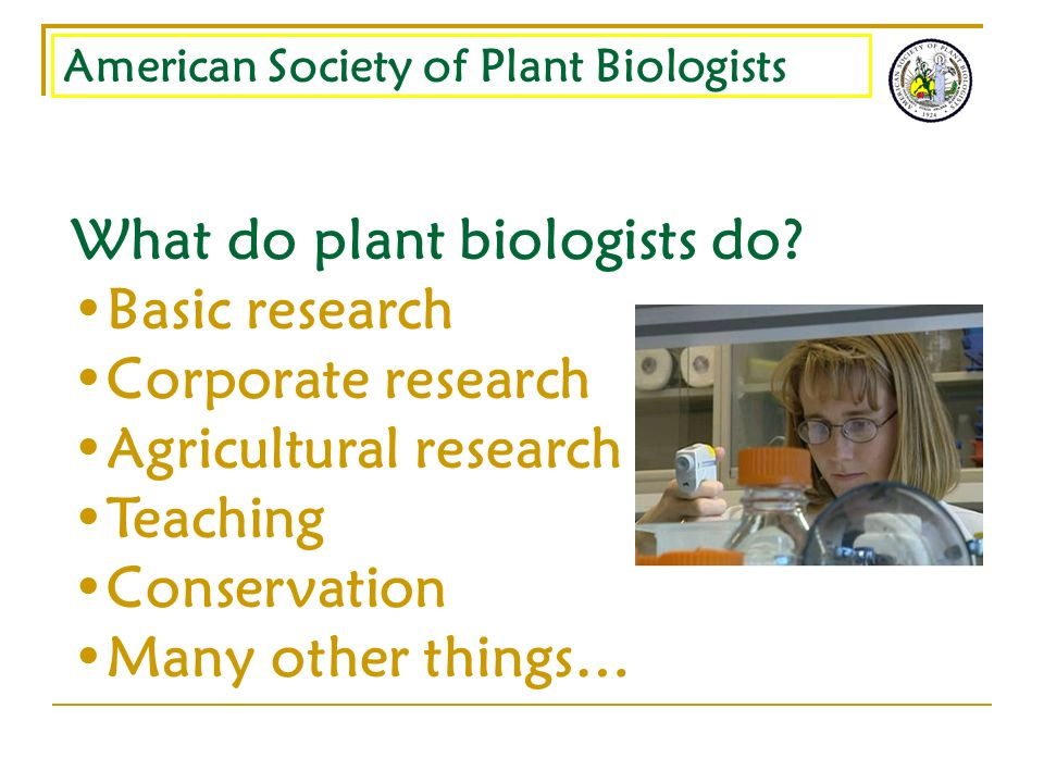 American Society of Plant Biologists