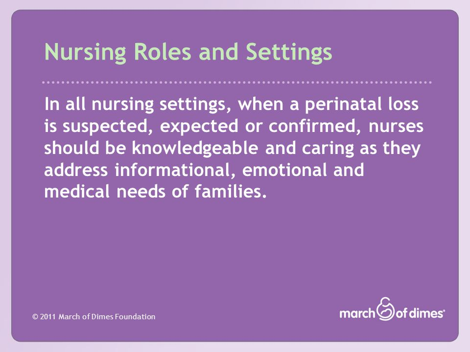 Nursing Roles and Settings