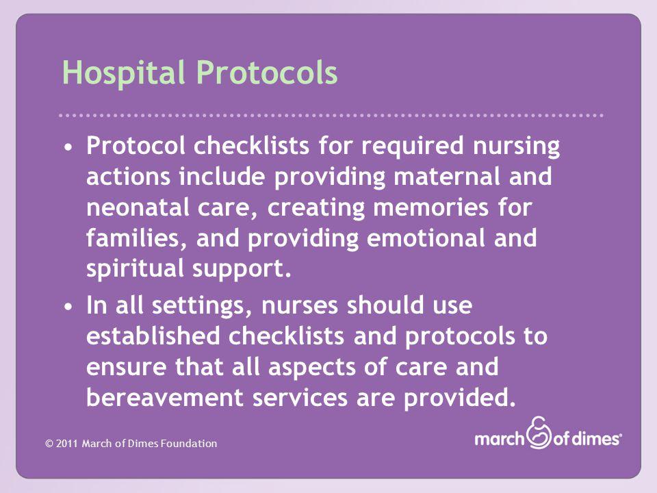 Hospital Protocols