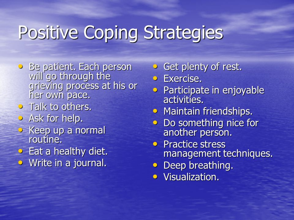 coping with loss Coping with grief & loss losing someone or something you love is very painful after a significant loss, you may experience all kinds of difficult and surprising emotions, such as shock.