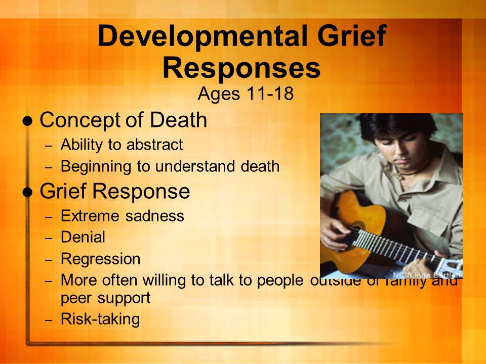 Developmental Grief Responses