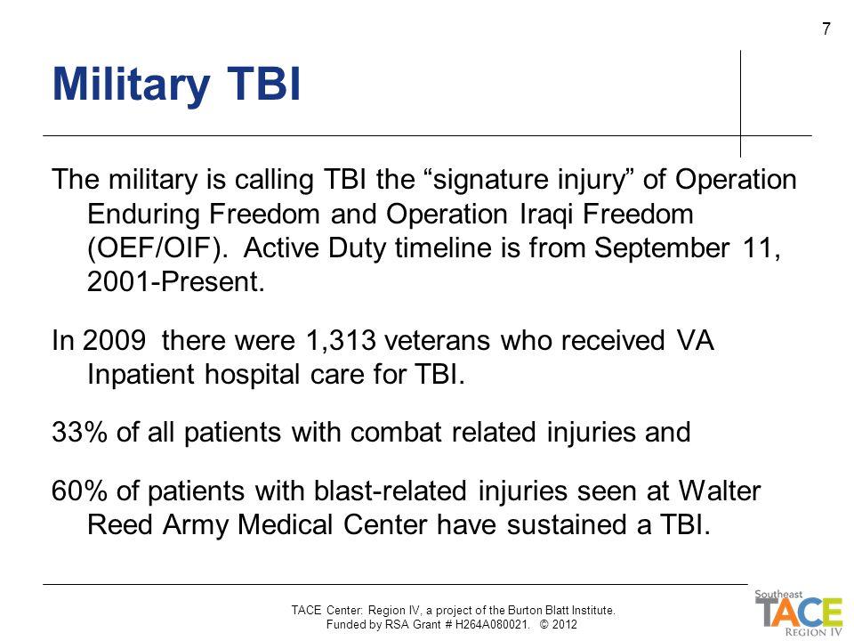 Military TBI