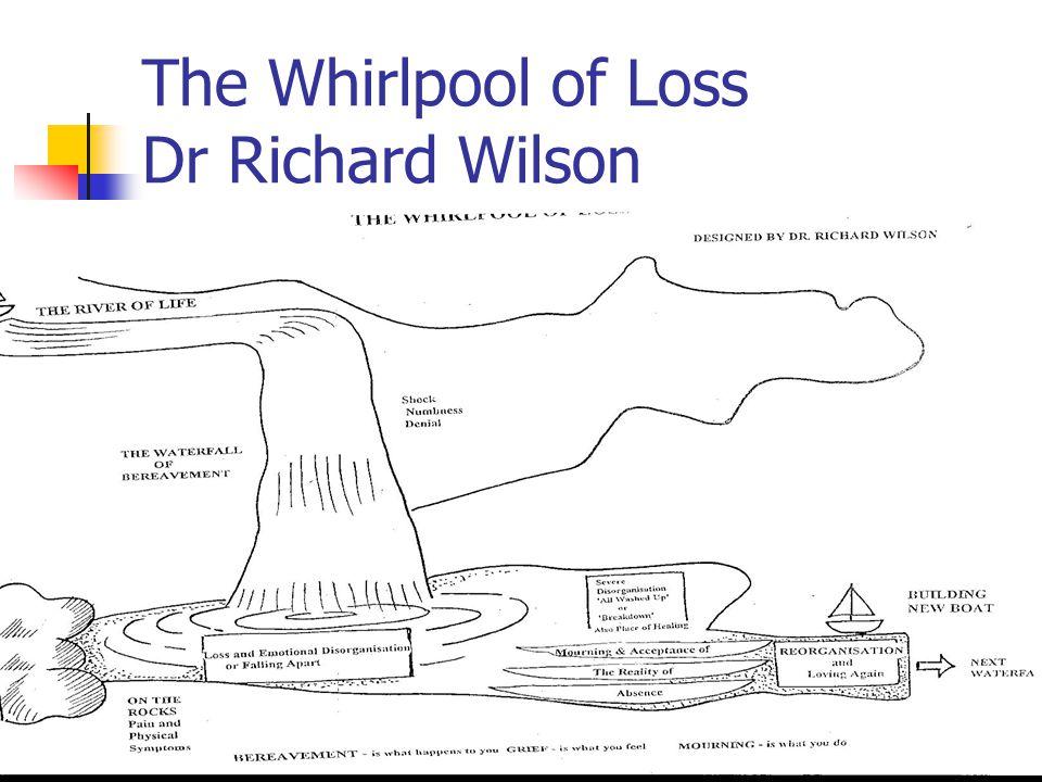 The Whirlpool of Loss Dr Richard Wilson