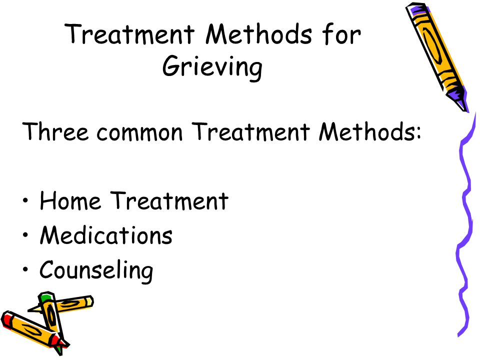 Treatment Methods for Grieving