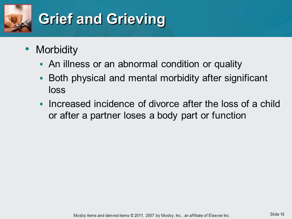 Grief and Grieving Morbidity
