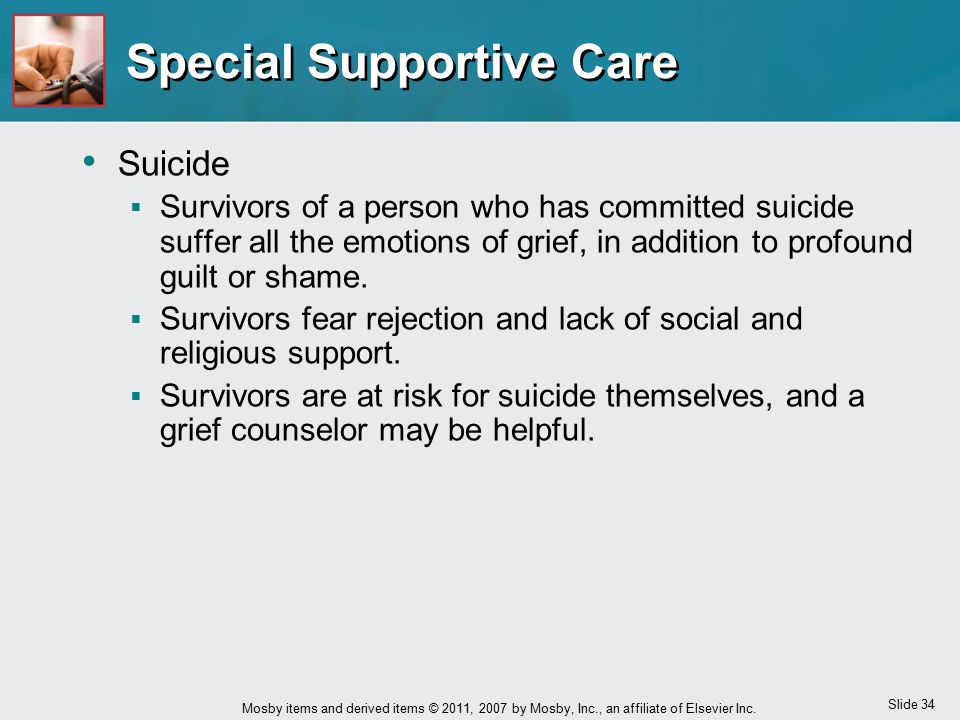 Special Supportive Care