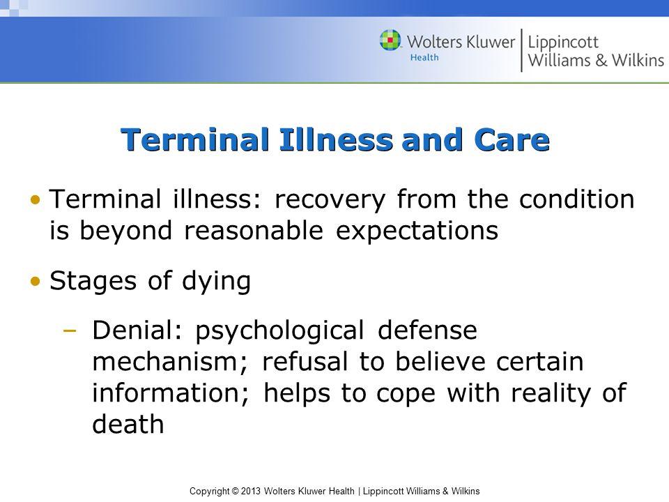 Terminal Illness and Care