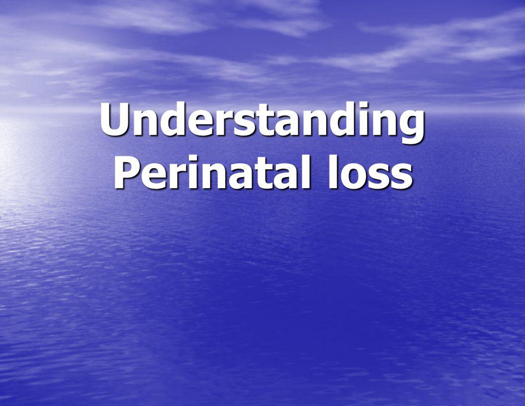 Understanding Perinatal loss