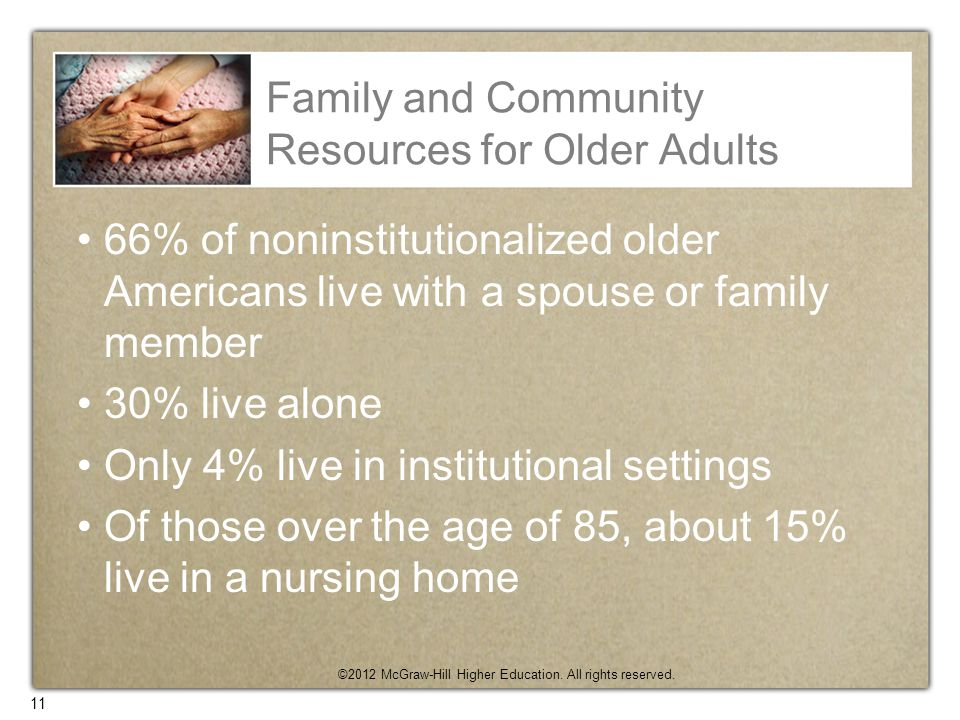 Family and Community Resources for Older Adults