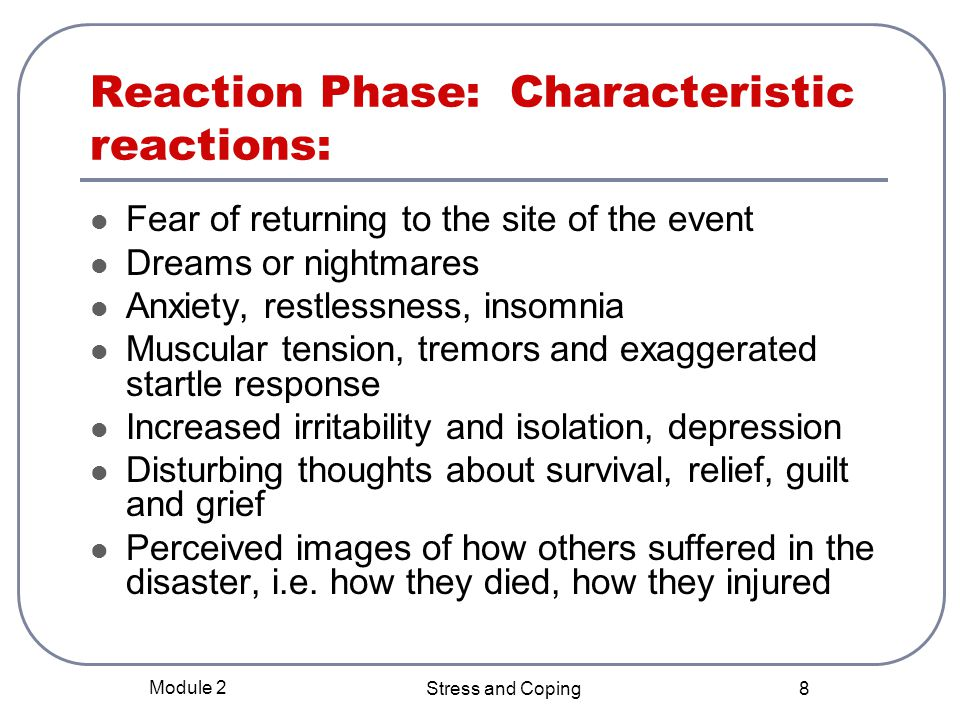 Reaction Phase: Characteristic reactions: