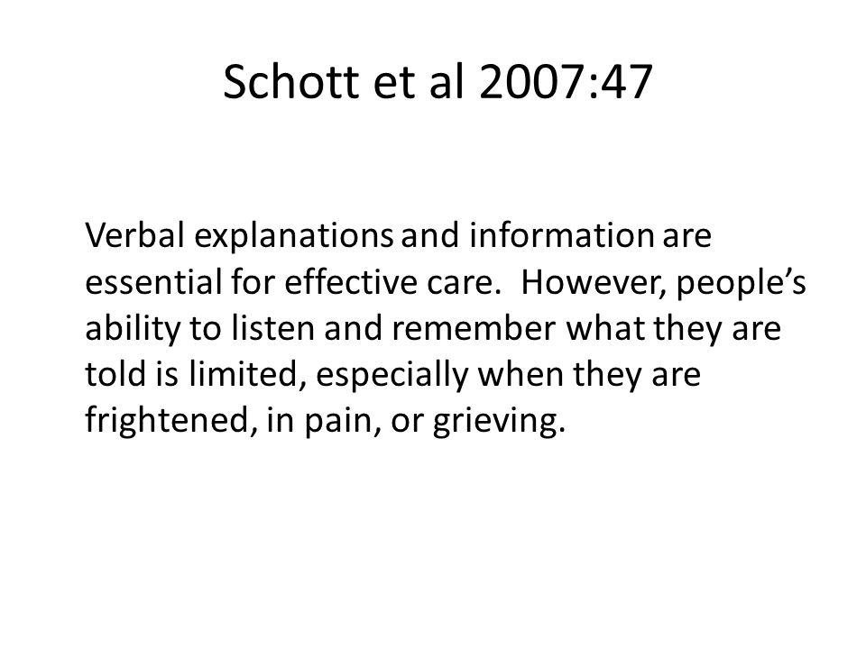 Schott et al 2007:47
