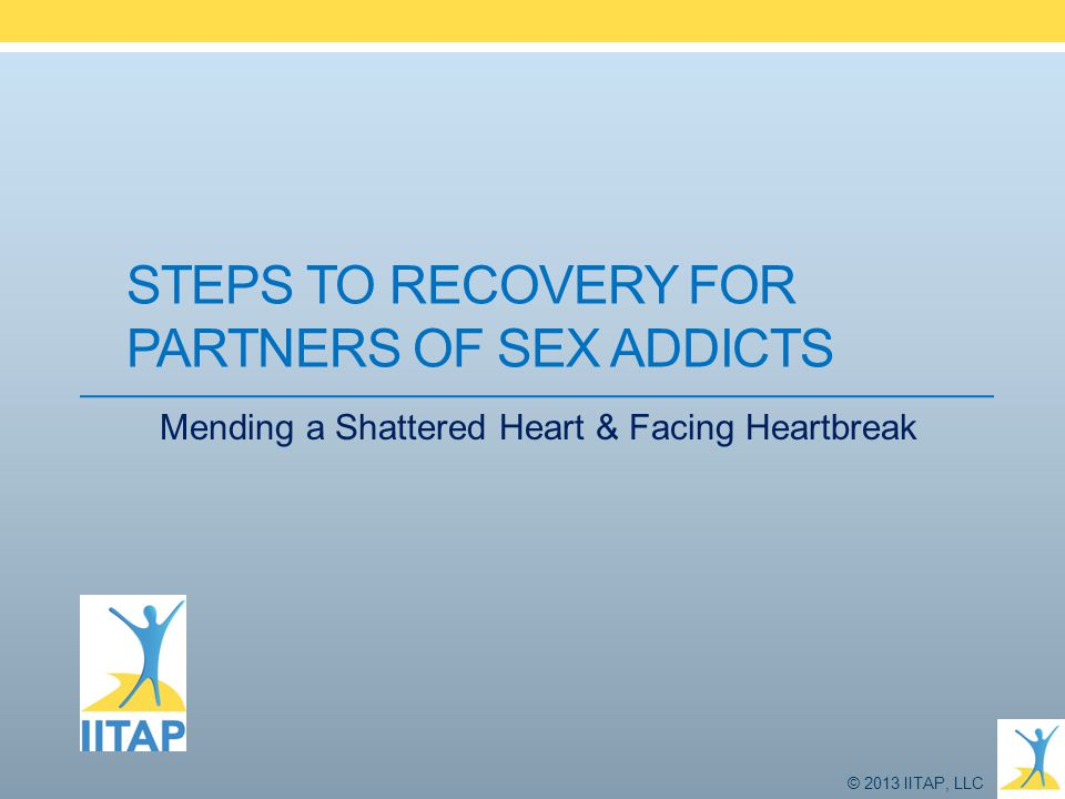 Steps to Recovery for Partners of Sex Addicts