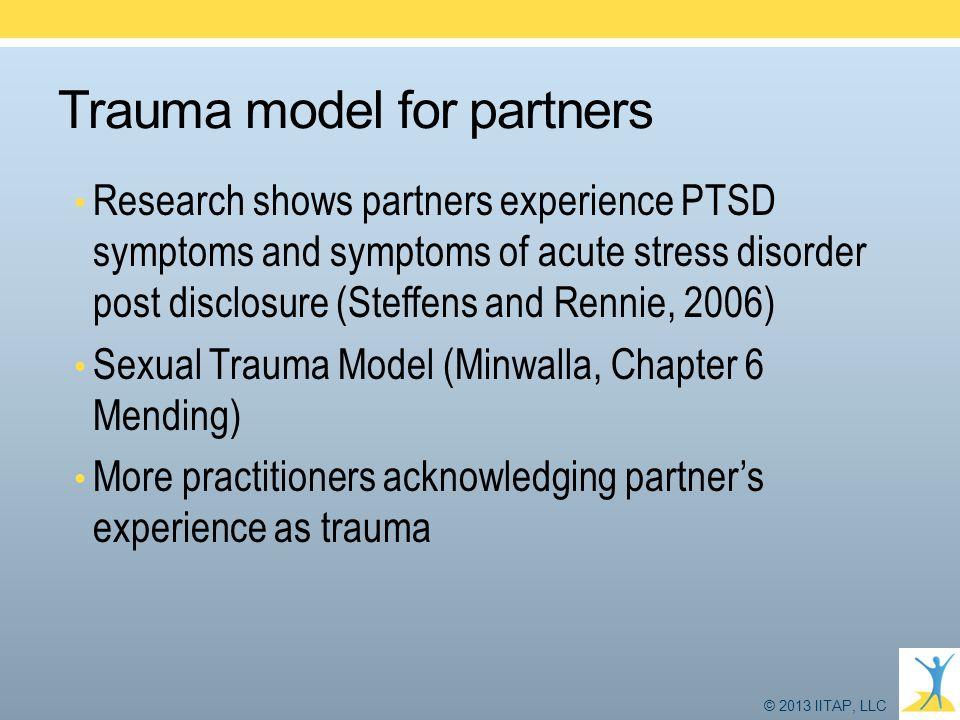 Trauma model for partners