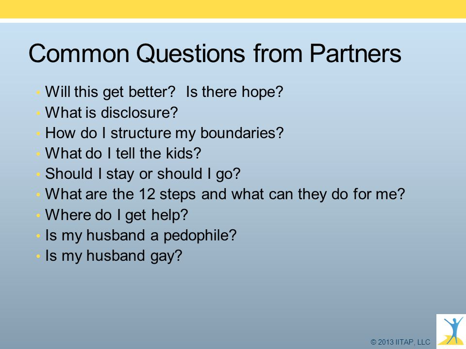 Common Questions from Partners