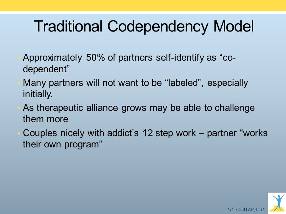Traditional Codependency Model