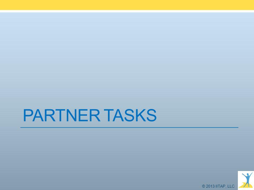 Partner Tasks Tony 9 - 12