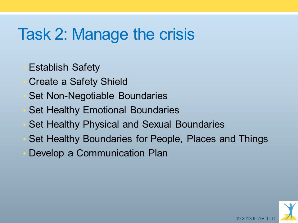 Task 2: Manage the crisis