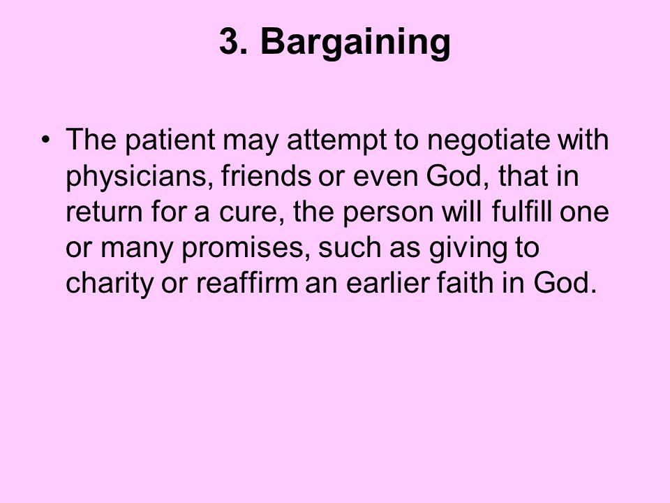 3. Bargaining