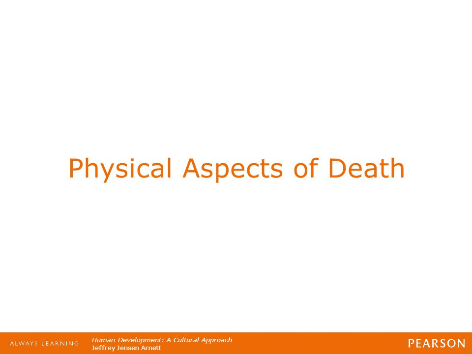 Physical Aspects of Death