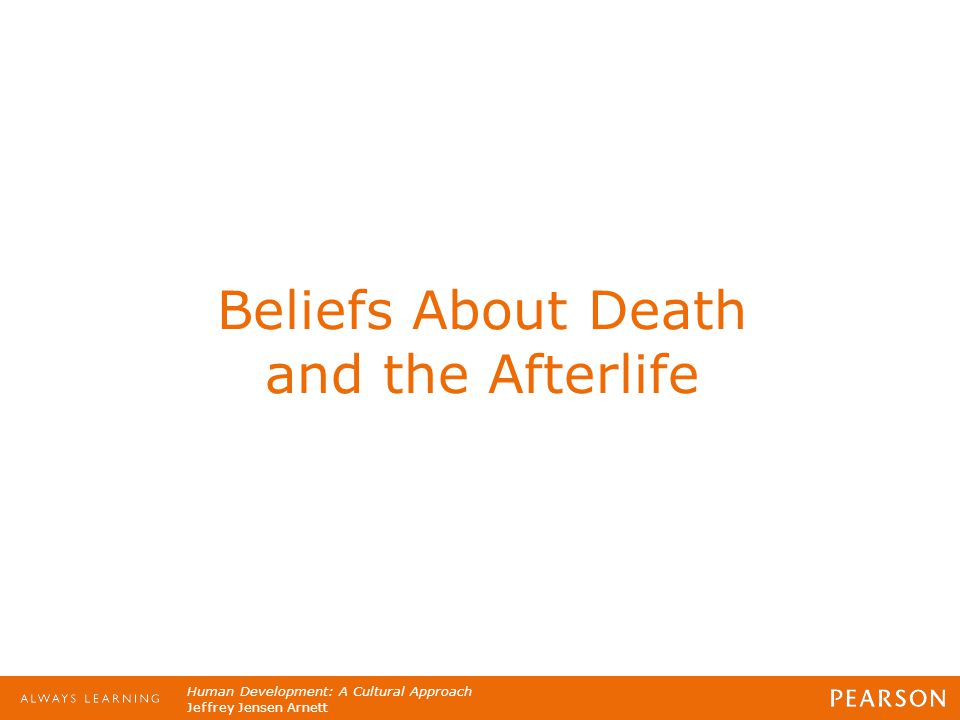 Beliefs About Death and the Afterlife