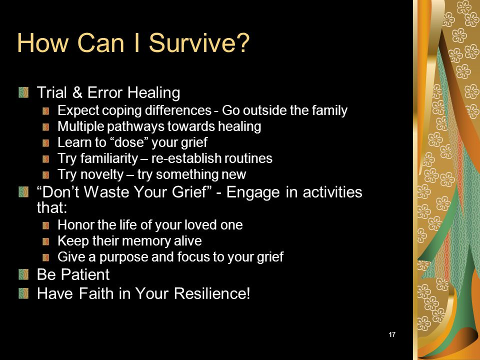 How Can I Survive Trial & Error Healing