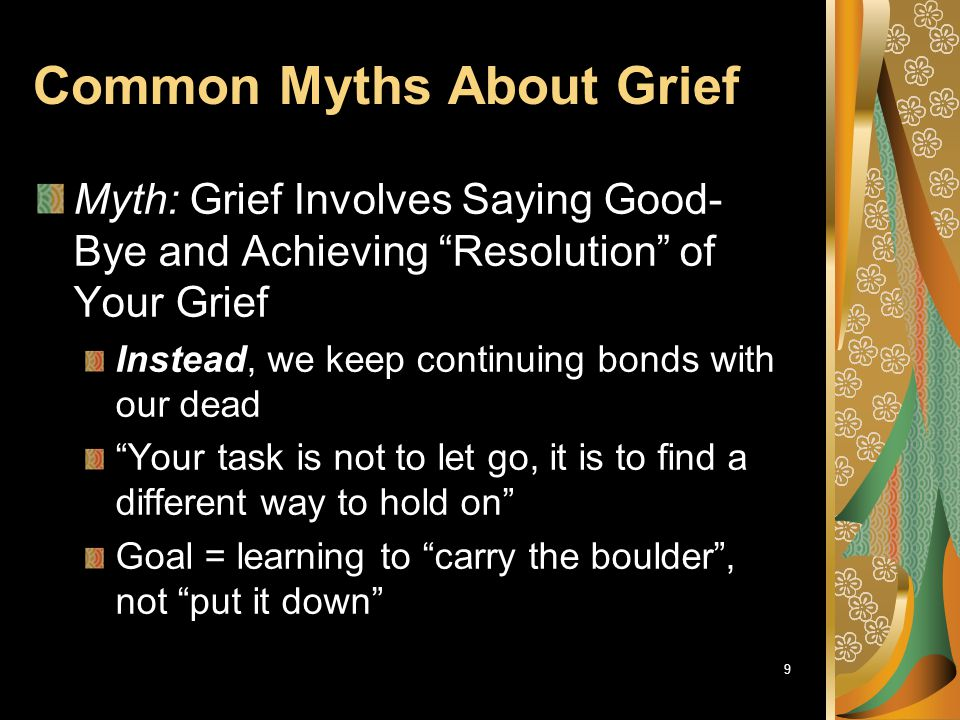 Common Myths About Grief