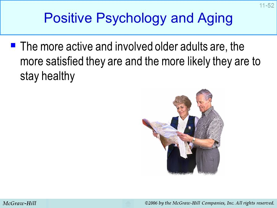 Positive Psychology and Aging