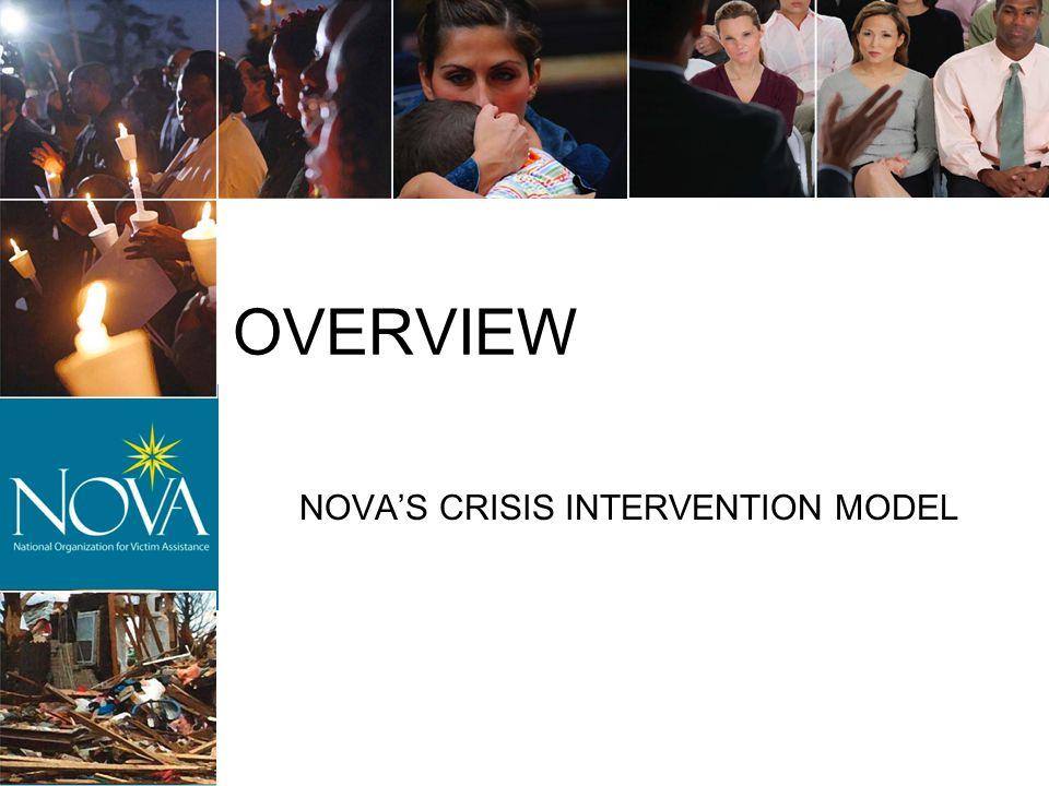 NOVA'S CRISIS INTERVENTION MODEL