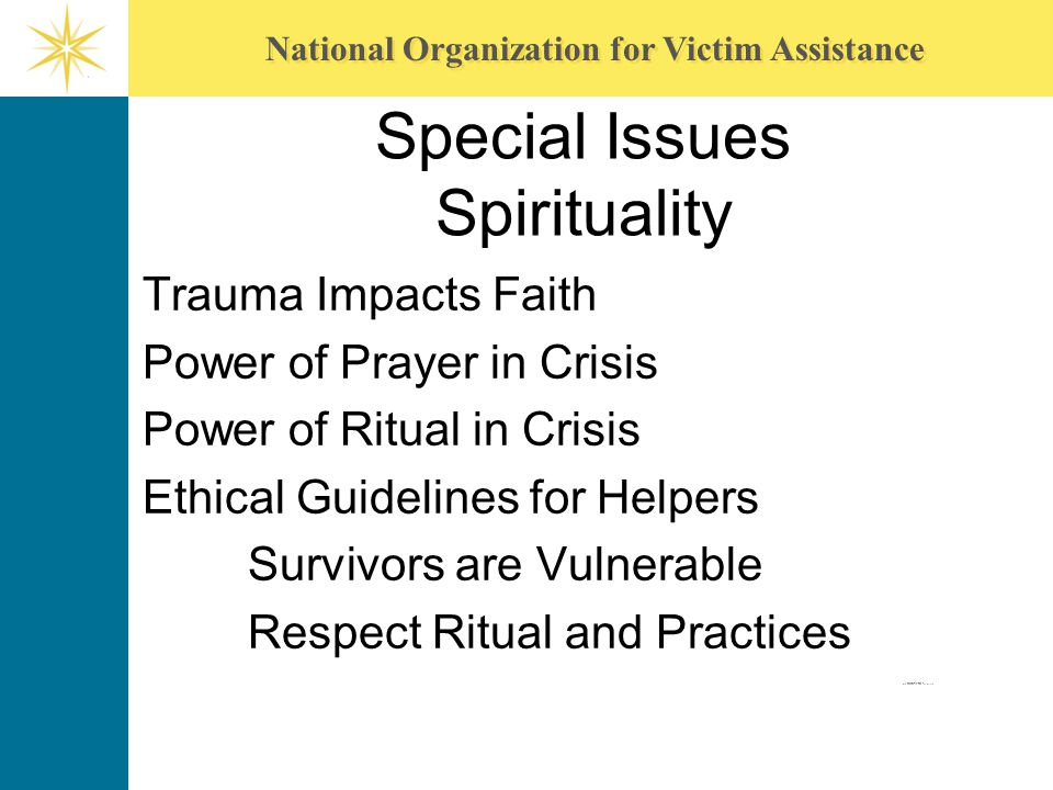 Special Issues Spirituality
