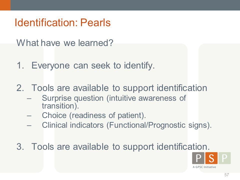 Identification: Pearls